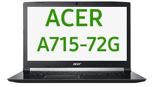 Ноутбук Acer Aspire 7 A715-72G