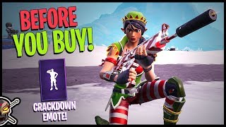 TINSELTOES - CRACKDOWN EMOTE - Before You Buy - Fortnite Item Shop 12/20/2018
