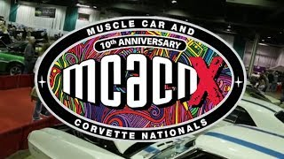 2018 Muscle Car And Corvette Nationals Week Begins!  V8TV MCACN Monday