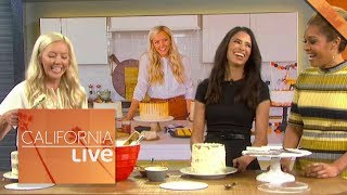 Cake By Courtney Teaches Us How to Decorate a Cake  | California Live | NBCLA