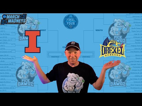 Illinois vs Drexel 3/19/21 Free College Basketball Pick and Prediction NCAA Tournament