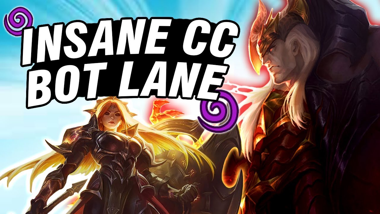 Repeat THE MOST OFFENSIVE BOT LANE COMBO?! - Swain Leona Bot