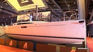 2017 J Yachts J112e Sailing Yacht - Deck and Interior Walkaround - 2016 Salon Nautique Paris