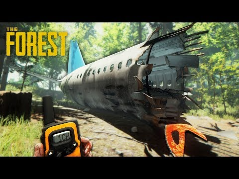 SURVIVE A PLANE CRASH!! (The Forest)