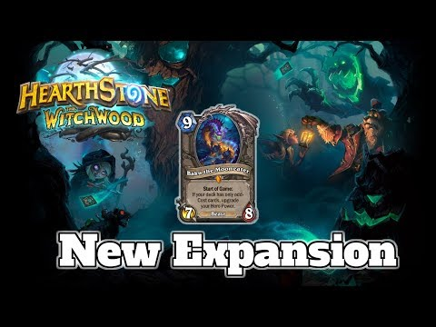 Witchwood New Hearthstone Expansion | Card Review Baku The Mooneater Genn Greymane Azalina Soulthief