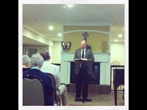 Preaching at the Church at Wazeecha, Wisconsin Rapids, WI - July 2, 2017
