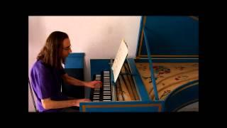 Bach: Goldberg Variations – Variation 7. John Moraitis, harpsichord.