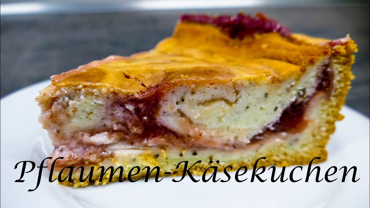 Thermomix Tm5 Pflaumen Kasekuchen Youtube