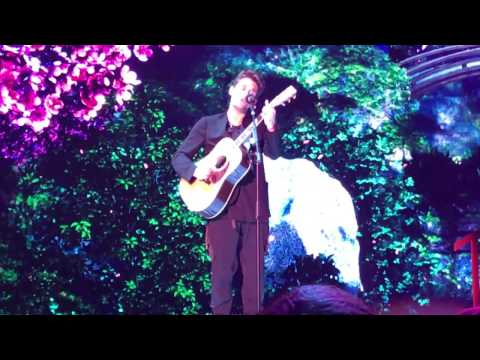 John Mayer sings Drake - Passionfruit/ live at Ziggodome 2017