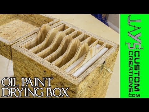 An OSB Experiment: Canvas Drying Box - 153