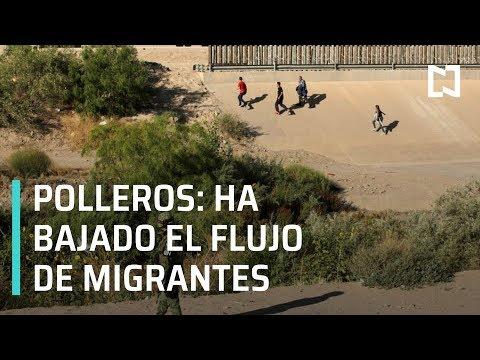 Polleros en Tijuana afirman que ha bajado el flujo de migrantes - Despierta con Loret