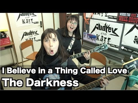 The Darkness - I Believe in a Thing Called Love- cover