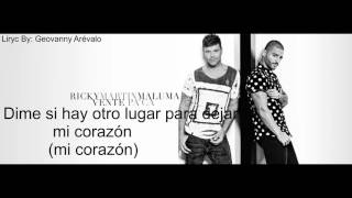 Ricky Martin - Vente Pa' Ca ft  Maluma (Video Lyrics)(2016)