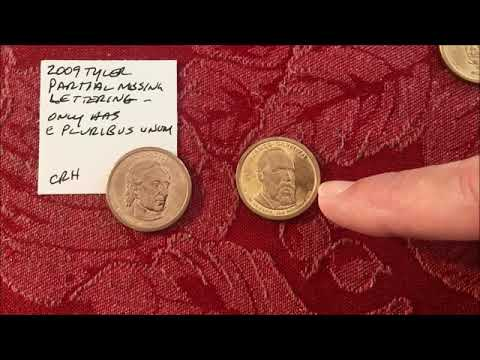 PRESIDENTIAL DOLLAR COIN ROLL HUNTING PT 4! ERRORS & VARIETY FOUND AND WE EXPLAIN WHAT TO LOOK FOR!