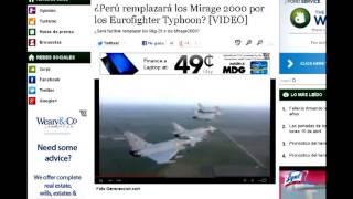 Repeat youtube video Perú Tiene el Dinero para Hacer Grandes Compras de Armas