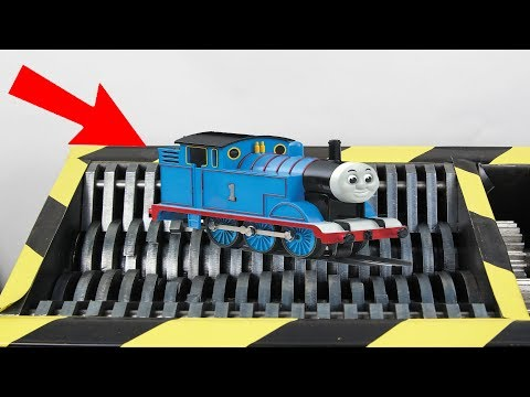 Shredding Thomas The Train Toy
