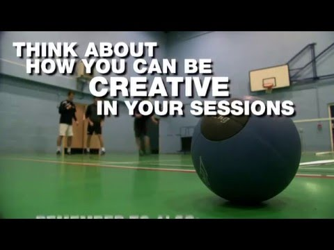 Delivering creative sports coaching sessions to children, young people and adults