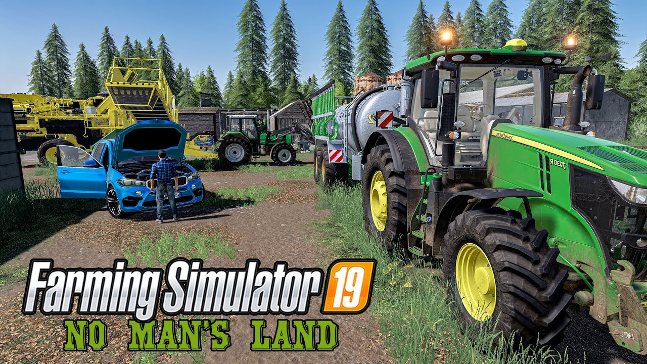 I Spread Slurry and Harvested Potatoes | Day 47 No man's land | Farming Simulator 2019 Timelapse