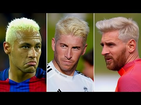 Most Famous Footballers Who Have Dyed Their Hair Blonde