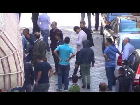Samsun'da gençlerin kız kavgası