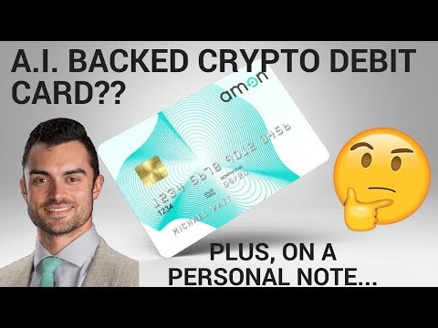 ARTIFICIAL INTELLIGENCE BACKED CRYPTO DEBIT CARD, WITH A TWIST