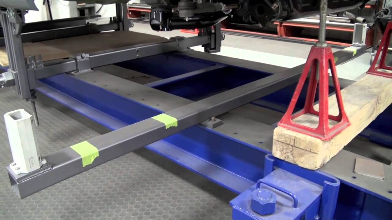 Black Hawk Chassis Table Youtube