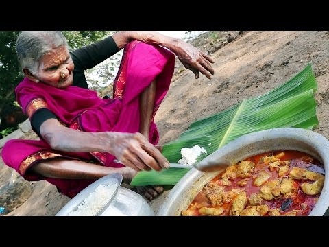 Thumbnail: My 105 years Grandma's Village Style Fish Recipe | Traditional Fish Curry | Country Foods