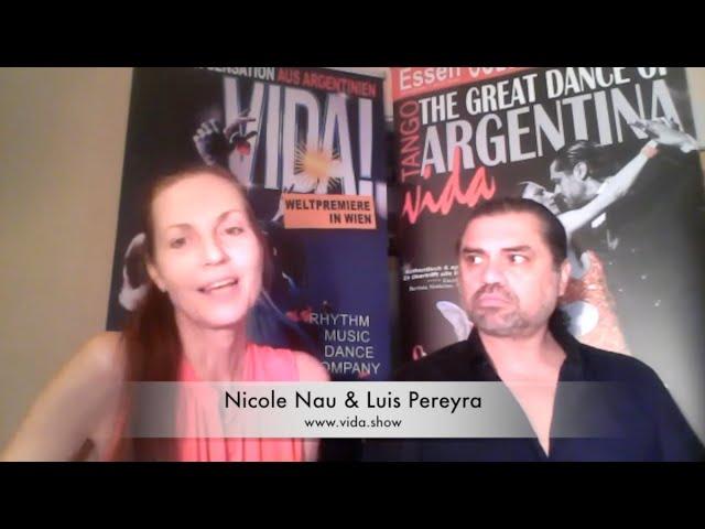Interview mit Nicole Nau und Luis Pereyra
