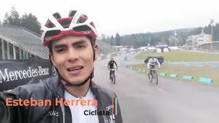 Esteban Herrera, ciclista del alto rendimiento.