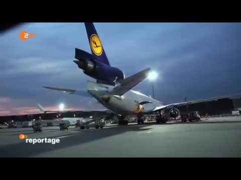 GE Dokumentarfilm - Dokumentarfilm Doku über Cargo Airport FRA Drehkreuz Flughafen Frankfurt