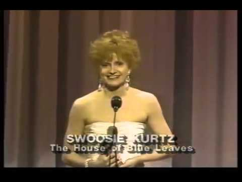 Swoosie Kurtz wins 1986 Tony Award for Best Featured Actress in a Play