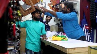 Dress shopping prank | Textiles prank | orange mittai| Tamil prank