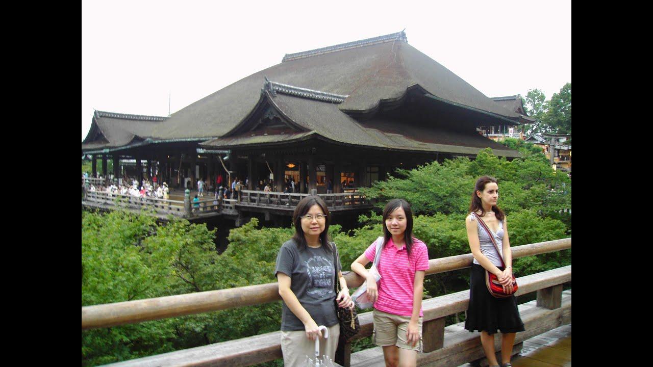 日本京都,大阪,神戶,紀州旅遊(2007.8.2~6) - YouTube