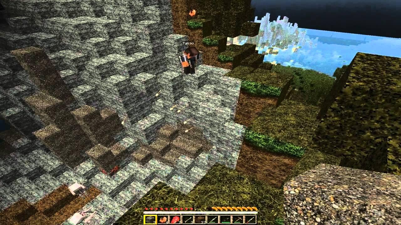 игры майнкрафт земли на выживание два #8