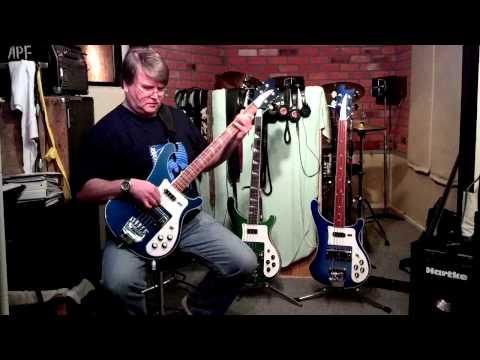Chinese Rickenbacker Copy Bass vs Real Ric!