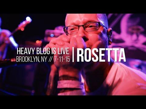Rosetta: 'Quintessential Ephemera' Live, 7-11-15