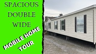 Spacious Double Wide Mobile Home | 28x80 4 bed 2 bath Champion Homes | Mobile Home Masters