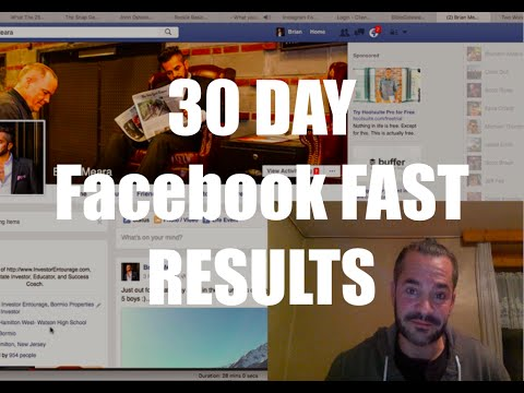 "My ""30 Day Facebook FAST Experiment"" & The Results...."