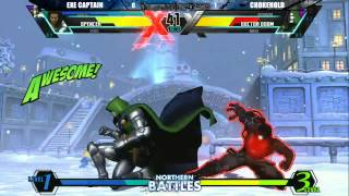 Northern Battles #6 Day 1 - uMvC3 - Exe Captain vs Chokehold