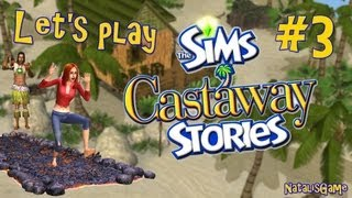Let's play The sims Истории робинзонов / #3 Тихая лагуна