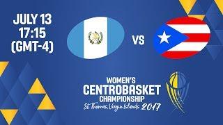 Guatemala vs Puerto Rico - Full Game - Women's Centrobasket Championship 2017 thumbnail