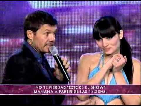 Showmatch 2011 - Mónica Listorti enojada por un reclamo de José María