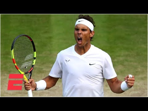 Rafael Nadal's win sets up semifinals match with Roger Federer | 2019 Wimbledon Highlights