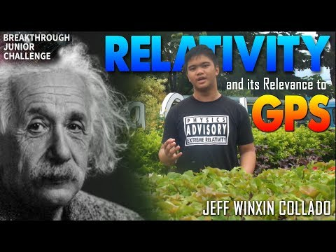 Breakthrough Junior Challenge 2018 | Relativity and Its Relevance to Global Positioning System (GPS)