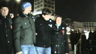 Mahnwache Berlin 16.03.2015 - Schweigeminute