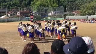 錦城中学校体育祭黄団