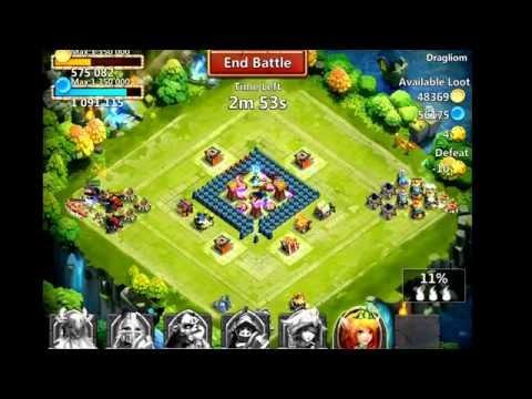 Castle Clash All Centaur Raid