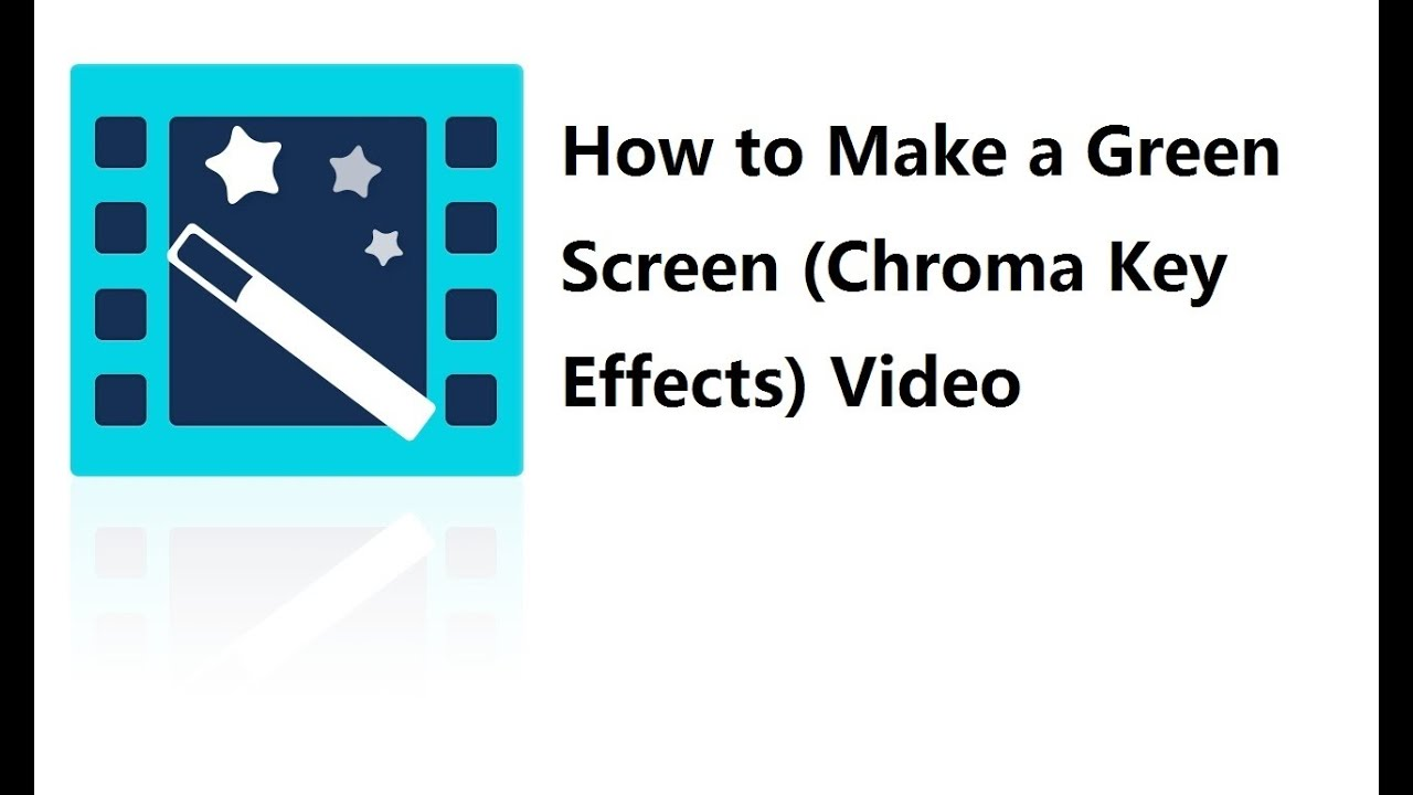 how to put make a greenscreen videi