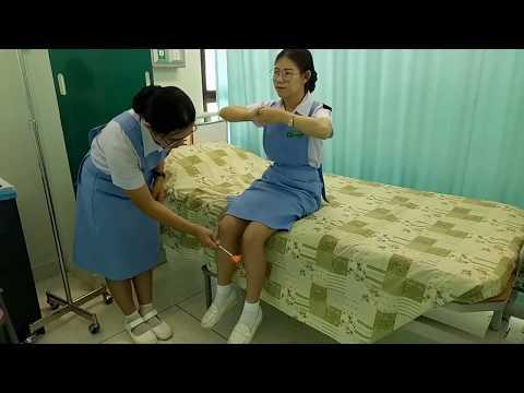 การตรวจร่างกายระบบประสาท การประเมิน(Reflexes)