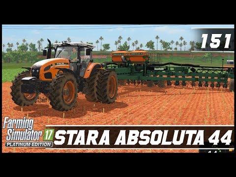 NOVA PLANTADEIRA BRASILEIRA! STARA ABSOLUTA 44 | FARMING SIMULATOR 17 PLATINUM EDITION #151 [PT-BR]